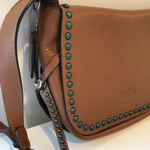 Coach Brown Leather Crossbody
